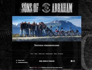 Moottoripyöräkerho Sons Of Abrahamin verkkosivut